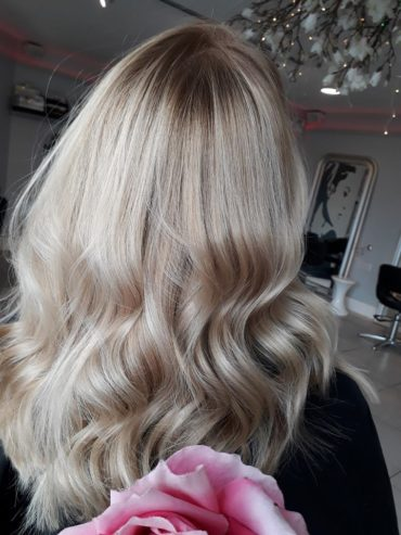 blonde after toning down